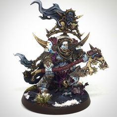 Post with 4190 views. Lord of Contagion - Warhammer Dark Imperium Warhammer 40000, Warhammer 40k Bits, Warhammer 40k Figures, Warhammer Aos, Warhammer Models, Warhammer 40k Miniatures, Chaos 40k, Chaos Lord, Chaos Legion