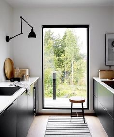 Indian Home Interior .Indian Home Interior Black Kitchens, Home Kitchens, Rustic Kitchens, Küchen Design, House Design, Design Ideas, Casa Top, Interior Architecture, Interior Design
