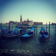 Gondola's in Venice