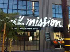 LOCAL MISSION MARKET: San Francisco's newest shop, The Local Mission Market, set within a bright and airy warehouse, offers beautiful food with a community feel. #LocalMissionMarket #Organic #SF #SanFrancisco #FoodShops #Market