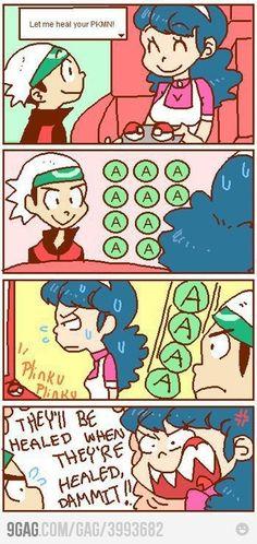 Pokemon training problems