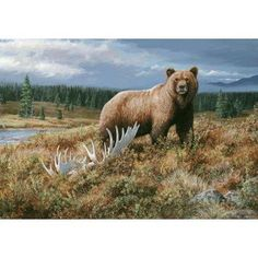 Grizzly Doormat by Custom Printed Rugs. $13.99. Printed on 100-Percent nylon carpet pile, non-skid foam backed.. Approximate Size: 37 x 52 inches.. Great Gift Idea.. Ideal for wall or floor. Excellent detail with beautiful natural colors.. Bound on all four sides for natural border effect.. DM 49 Machine made novelty doormat Features: -Technique: Needle punch.-Material: Polyester.-Origin: United States.-Non-slip and urethane foam backing. Construction: -Construction: Mac...
