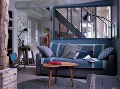 Palette de gris pour petit salon cosy - 44 photos pour trouver l'ambiance de son salon - CôtéMaison.fr