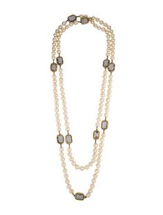 Chanel Pearl Sautoir Necklace