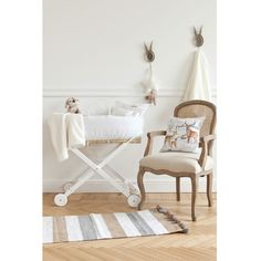 Kids Handle Moses Basket | ZARA HOME United Kingdom- yes please!