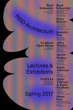 Archinect's Architecture School Lecture Guide for Winter & Spring 2017 Archinect's Get Lectured is back in session for Spring Ge. Graphic Design Posters, Graphic Design Typography, Graphic Design Inspiration, Brand Inspiration, Poster Designs, Illustration Design Graphique, Digital Illustration, Posters Conception Graphique, Architecture Old