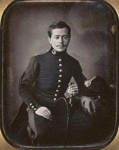 Daguerreotype soldier, 1850