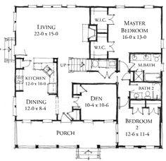 Whisper Creek Cottage (variation) House Plan (133140) Design from ...