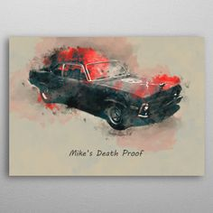 Death Proof by Abraham Szomor | metal posters - Displate