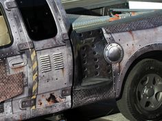 Apocalypse Wrap F150. Truck wrap designed and installed by John King, Los Angeles.