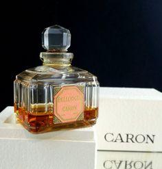 Caron Bellodgia Perfume Caron Crystal Decanter Parfums Caron Paris French Perfume Bottles by OldGLoriEstateSale on Etsy