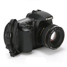 Amazon | デジタル一眼/ミラーレスカメラ用おしゃれ 本革カメラグリップ Herringbone ハンドストラップ / プレートセット(ブラック) [並行輸入品] | カメラ・双眼鏡用ストラップ・ホルダー オンライン通販