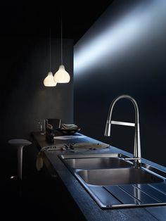 LIKID. Miscelatore lavello con doccetta orientabile / Sink mixer with adjustable spray
