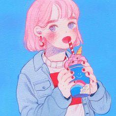 FOMMY  큰그림은 아직 어색하다 ㅠㅠ  -  -  -  #소녀#스케치#연필#드로잉#습작#분홍#파랑#색연필#red##girl#doddle#sketch#pencil#draw#drawing#instadraw#art#illust#illustration#art#ilustracion#イラスト#blue#water#watercolor#fashion#colorpencil#fommy#