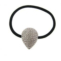 Pave Crystal Teardrop Ponytail - Ponytails - Hair Accessories