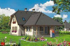 Projekt Paprotka - elewacja domu
