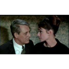 ファイル Cary Grant and Audrey Hepburn in Charade.jpg ❤ liked on Polyvore