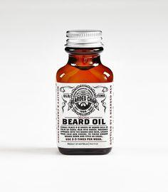 The Bearded Chap - Original Beard Oil, $38.00 AUD (http://www.thebeardedchap.com/original-beard-oil/)