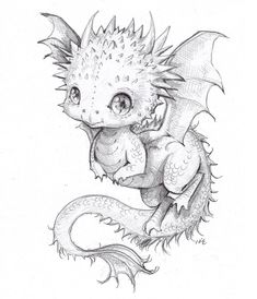Our social Life Fairy Drawings, Fantasy Drawings, Art Drawings Sketches, Animal Drawings, Fantasy Art, Tattoo Sketches, Tattoo Drawings, Baby Dragon Tattoos, Dragon Sketch