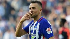 Vedad Ibisevic scored his 100 Bundesliga goal then got sent off less than 10 minutes later. #soccerplayers #soccergoal #goal #Bundesliga #VedadIbisevic #Ibisevic