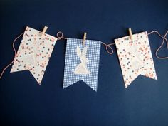 printable Easter bunny bunting  (by Hank + Hunt for The Sweetest Occasion)