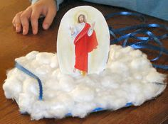 Catholic Icing: Ascension of Jesus Crafts for Kids