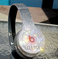 CRYSTAL BEATS BY DRE Bedazzled Headphones. Bling Your Beats! Whats Your Color?