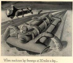 National Motor Bearing Co. ad 1950s