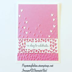So Detailed Thinlits die, loving this die and matching stamp set,  falling petals embossing folder