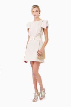 Mini abito placca ovale - Abiti su Digital Store ELISABETTA FRANCHI - la Boutique online ufficiale