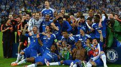 El Chelsea inscribe su nombre en el trofeo desde el 97 cuando gano el Dortmund