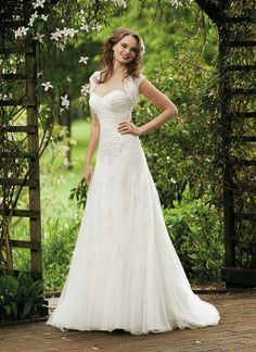 ♥sweetheart Court Train Wedding Dress A Line Bridal Gown Size Custom NEW 2013♥ | eBay