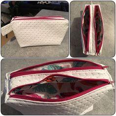 Voici ma 1ère trousse Zip-zip de sacotin ! J'ai hâte d'en faire plein !!  #sacotin #faitmain #handmade #couture #cestmoiquilaifait #trousse #sewing #sew