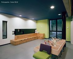 S&AA, Florian Tiedje · Multimedia Library in an Old Factory. Erstein, France