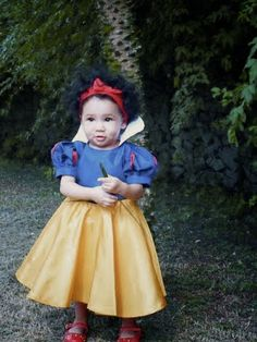 Vestido Infantil   Branca de Neve e os Sete Anões   Disney