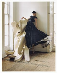 Coco Rocha - Tim Walker - February 2007 issue