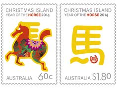 Lunar New Year stamp to celebrate the Year of the Horse.