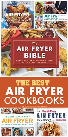 Whether you are a complete Air Fryer Newbie or a seasoned pro, having this selection of the Best Air Fryer Cookbooks to hand, can open up a whole new world of tasty and easier cooking to you. The cook books help you learn how to air fry food  and make great gifts too for beginners  #airfryer #airfryercookbooks #cookbooks #airfried #recipebooks #gifts #kitchengifts #healthygifts #recipebooks Air Fryer Recipes Vegan, Air Fryer Dinner Recipes, Air Fryer Healthy, New Years Eve Food, Air Fried Food, Best Air Fryers, Pioneer Woman Recipes, Fry Food, Food For A Crowd