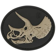 3D Morale Patch - Triceratops. www.Maxpedition.com