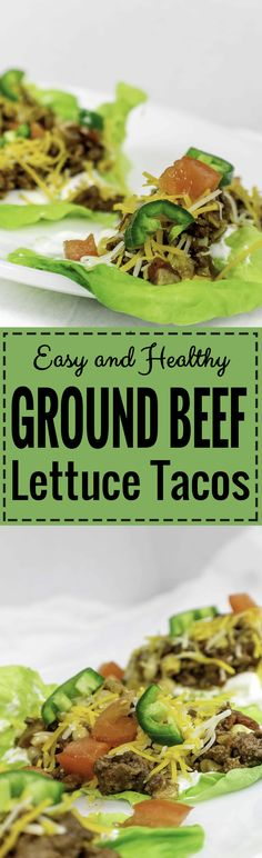 These are by far the best Ground Beef Lettuce Tacos I have ever have! They are so yummy and delicious. For sure, I am going to make this recipe tonight!