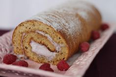 "Sponge Roll Cake(Paleo & SCD).... i'll cover this with chocolate frosting and make it a ""Christmas Yule Log Cake"""