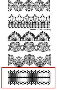 Haniela's: ~Linear Lace Cookie Designs~