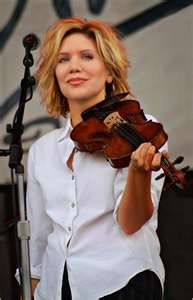 Allison Krauss. one of my favorite country artists