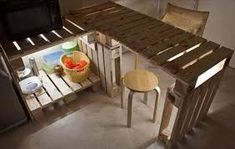 Znalezione obrazy dla zapytania stół z palet