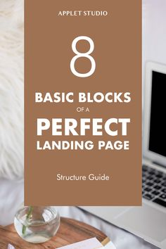 Ultimate Landing Page Structure to Maximize Conversions — Applet Studio Web Design Tools, Tool Design, Design Templates, Design Tutorials, Wordpress Css, Online Marketing, Digital Marketing, Best Landing Pages, Small Business Resources