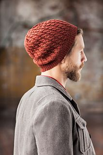 Knitting Pattern: Eno | Men's hat with cables