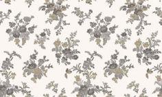 Tapet vinil gri crem floral 1219 Cristina Masi Carlotta Flooring, Rugs, Floral, Outdoor, Collection, Design, Home Decor, Christians, Farmhouse Rugs