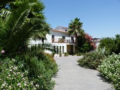 Fuegoblanco, Andalucia. Award winning rural eco hotel set in organic lemon and orange orchards stretching down to the banks of the Rio Guadalhorce http://www.organicholidays.co.uk/at/2742.htm