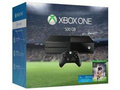 Console Xbox One 500GB Microsoft 1 Controle - com Fifa 16 + 1 Mês de EA Access Via Download com as melhores condições você encontra no Magazine Gersonadriana. Confira!
