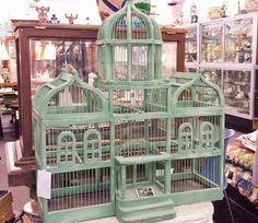 Vintage Taj Mahal BIRDCAGE
